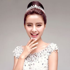 Fashion Elegant Rhinestone Bridal Jewellery Wedding Tiara Hair Accessories