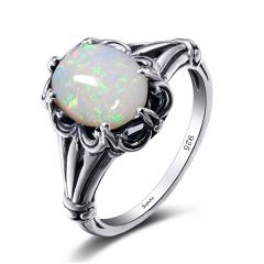 Modest / Simple Silver Rings 2019 Crystal Silver Plated Synthetic Gemstones Church Accessories