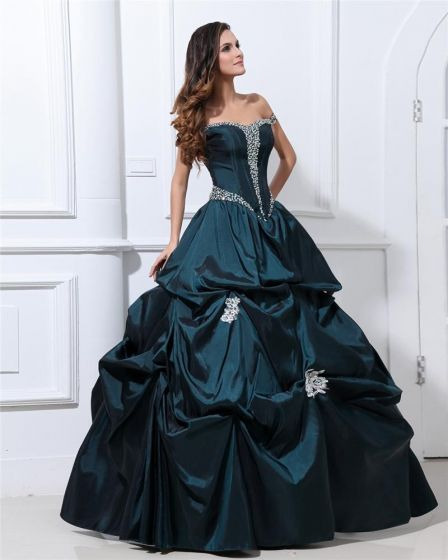 05d33f8fc06 ball-gown-taffeta-beading-ruffle-applique-shoulder-straps-ankle-length- quinceanera-prom-dresses-448x560.jpg