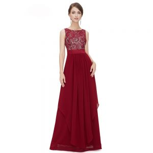 Chic / Beautiful Casual Summer Maxi Dresses 2019 A-Line / Princess Lace Scoop Neck Sleeveless Floor-Length / Long Womens Clothing