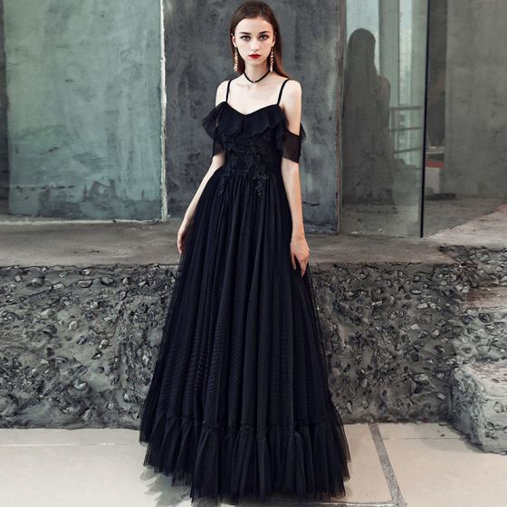 77a010fbe0 affordable-black-prom-dresses-2019-a-line-princess-spaghetti-straps -short-sleeve-appliques-lace-floor-length-long-ruffle-backless-formal- dresses-560x560.jpg