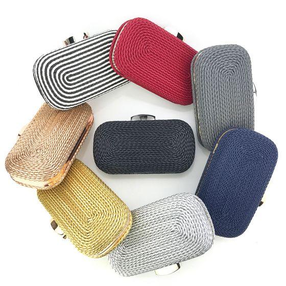 Modest / Simple Square Braid Clutch Bags 2020