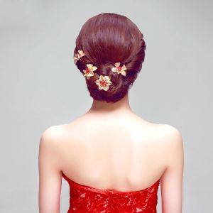 Coiffe Rouge / Robe Bijoux / Accessoires De Cheveux / Costume De Robe Bijoux