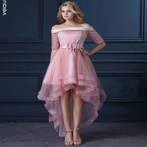 pink cocktail dres