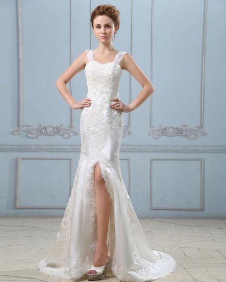 Brautkleid kurz mit mantel