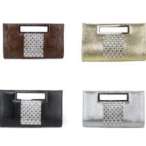 Large-capacity Portable Handbag Pu Serpentine Casual Handbags Clutch Bags