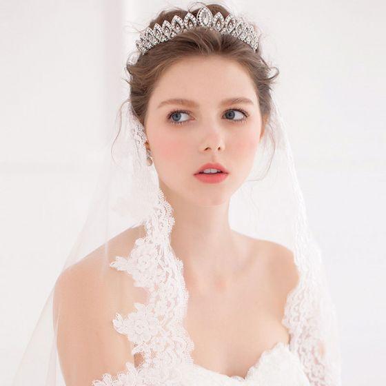 Styling Als Druppelen De Tiara / Bruids Retro Haaraccessoires