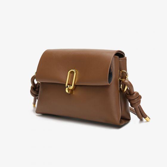 Mode Quadratische Kaffee Umhängetasche Umhängetaschen 2021 PU Damentaschen