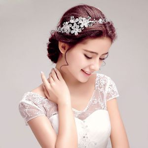 Shine Rhinestone Bridal Headdress /Head Flower / Wedding Hair Accessories / Wedding Jewelry