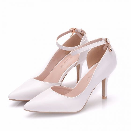 d48c47e03da4e modest-simple-white-office-womens-shoes-2018-ankle-strap-8-cm-stiletto-heels -pointed-toe-high-heels-560x560.jpg