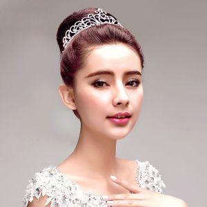 Mode Strass Bruidssieraden Tiara Haaraccessoires