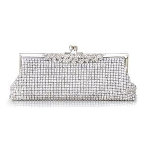 Funkelnder Diamant Clutch Tasche Luxus Volle Diamantbeutel-abendbeutel Der Dame Bankett Clutch Tasche Clutch-taschen
