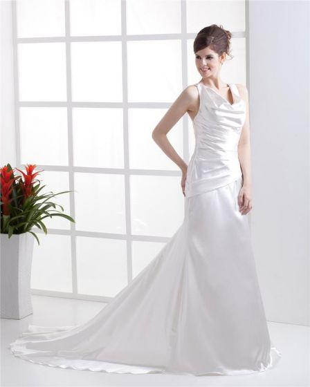 u vestido de novia vaina mujer longitud charmeuse piso cinturón