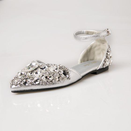 b3b6e3c58679 sparkly-silver-wedding-shoes-2018-wedding-beading-sequins-crystal-rhinestone -buckle-pointed-toe-flat-high-heels-560x560.jpg