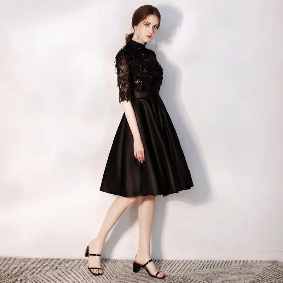 Charming Black Evening Dresses 2020 A