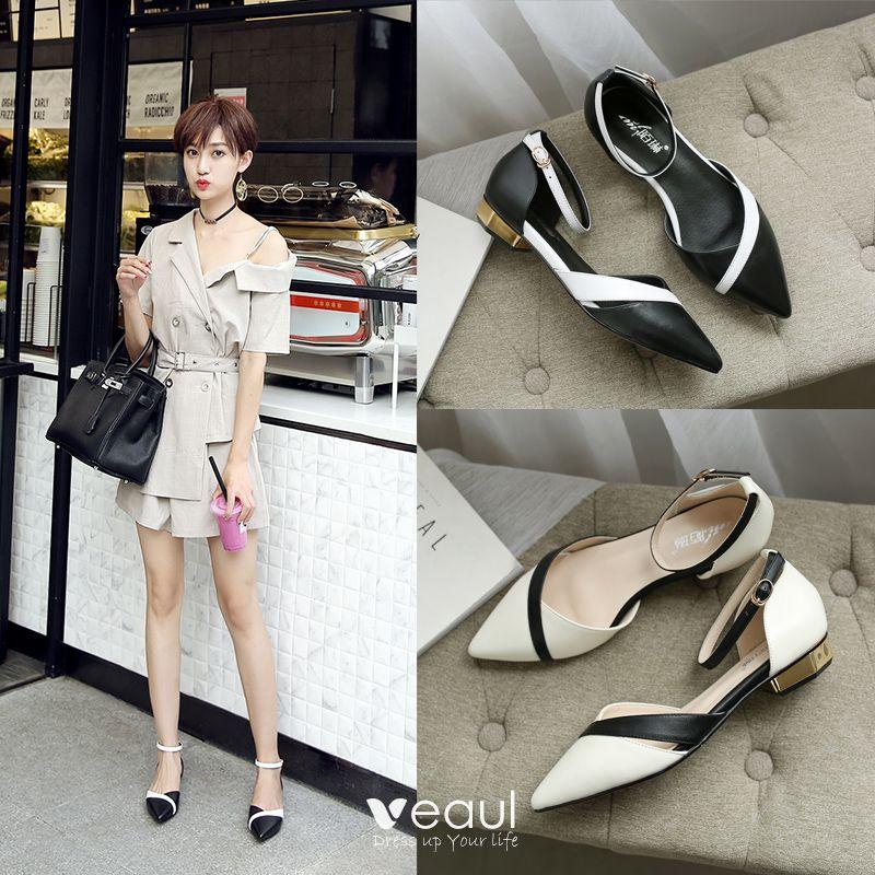 Elegant Outdoor / Garden Womens Sandals 2017 Leather Handmade