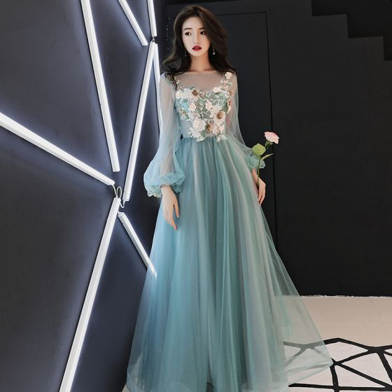 Puffy Long Sleeve Dress