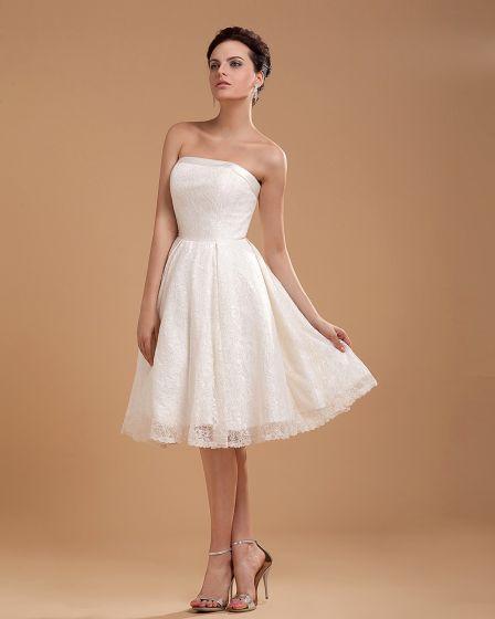 vestidos de novia vestido de boda corto bordado de encaje