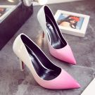 Chic / Beautiful Candy Pink 2017 Womens Shoes 9 cm Pointed Toe Glitter Cocktail Party Pumps High Heels