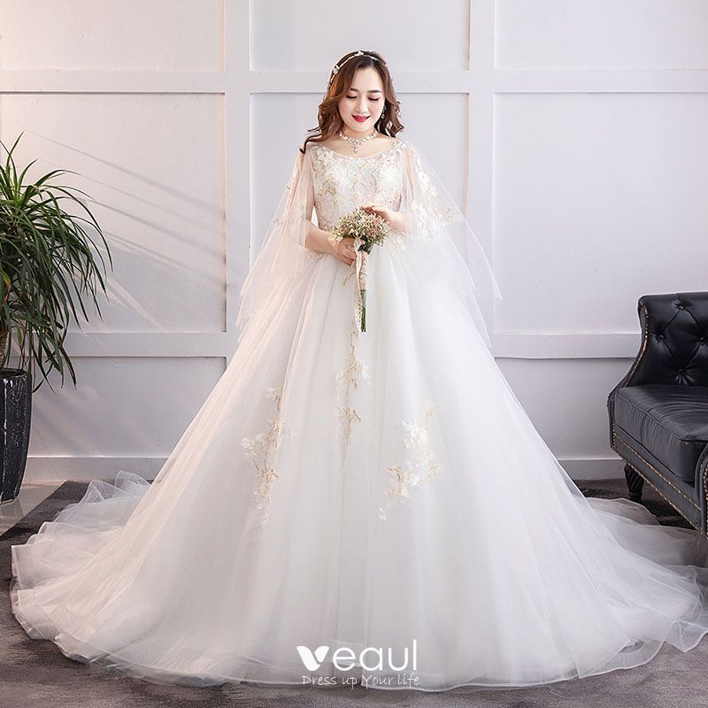Plus Size Ball Gown Wedding Dresses