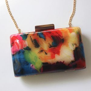 Modern / Fashion Multi-Colors Doodle Homecoming Evening Party Clutch Bags 2018