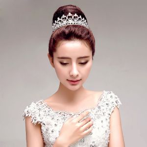 Elegant Bridal Jewellery Rhinestone Wedding Tiara Wedding Accessories