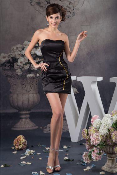 Black Sweetheart Neckline Cocktail Dresses