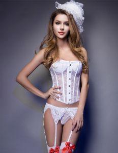 Bridal Seamless Slim Lace Abdomen Corset Underwear