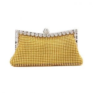Aluminum Bead Bag Handbag Banquet Bag Clutch Bag Evening Bag Dress Bag