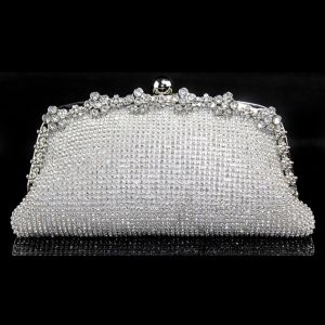 Shining Full Rhinestone Clutch Bag Light Luxurious And Elegant Ladies Diamond Dinner