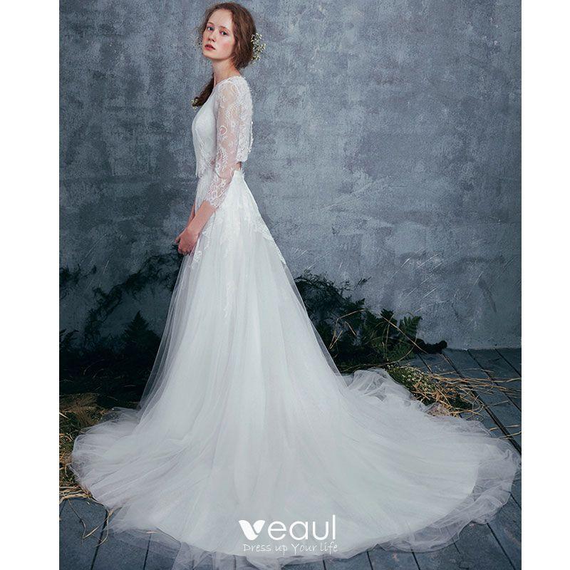28 Two Piece Wedding Dresses
