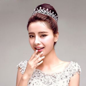 Elegant Rhinestone Bridal Jewellery Wedding Tiara Hair Accessories