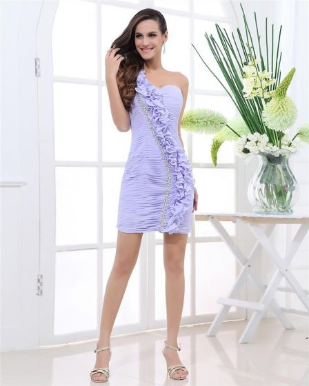 4b4bab324 Cremallera Sin Mangas Con Pliegues Vestido De Partido De La Mujer De Cóctel  Mini Gasa De ...