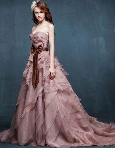 Hiver Nuptiale Grande Taille De Type Epais Fuite Robe De Mariée