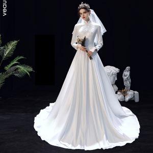 Modest muslim long dress