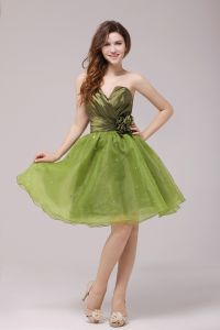 2015 Green A-line Short Cocktail Dress