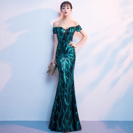 b8eff6055a sparkly-dark-green-sequins-evening-dresses-2018-trumpet-mermaid-off-the- shoulder-short-sleeve-floor-length-long-backless-formal-dresses-560x560.jpg