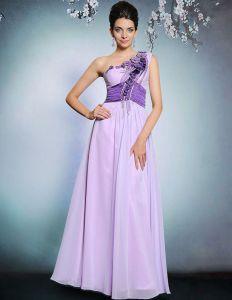 2015 Elegant Beauding Applique Faltete Langes Abendkleid