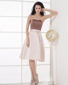 Elegant Strapless Evening Party Dresses