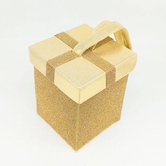 Bling Bling Gold Perlenstickerei Strass Cocktail Abend Clutch Tasche 2018