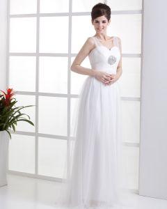 Herzförmiger Ausschnitt Reich Brautkleider Hochzeitskleid