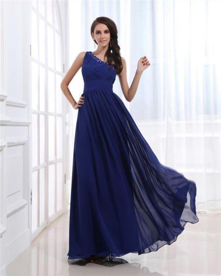54c7161de3 Wzburzyc Zroszony Szyfonu Ramie Długosc Kostki Plus Size Sukienki Wieczorowe  Suknie Wieczorowe