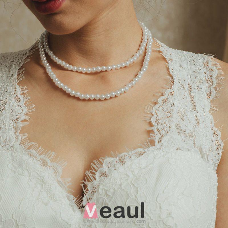 2015 Vintage Mermaid Schultern Sicken Spitze Brautkleid