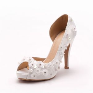 Simple Handmade Flower Bridal Shoes / Wedding Shoes / Woman Shoes