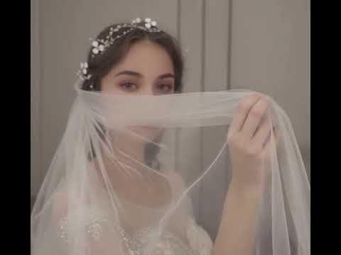 Luxus / Herrlich Champagner Durchsichtige Brautkleider / Hochzeitskleider 2019 Ballkleid Rundhalsausschnitt 3/4 Ärmel Rückenfreies Handgefertigt Perlenstickerei Glanz Tülle Kathedrale Schleppe Rüschen
