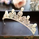 Classic Silver Rhinestone Metal Tiara 2017 Bridal Jewelry