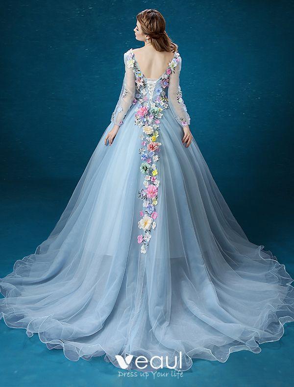 Flower Fairy Dress 2016 Long Sleeves