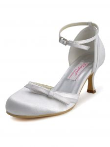 The New Hot Sweet And Elegant Satin Wedding Shoes Party Shoes