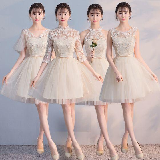 Vestidos para damas de honor cortos