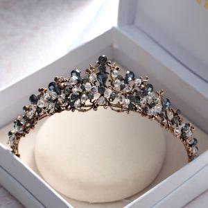 Vintage / Originale Bronze Mariage Accessorize 2018 Métal Faux Diamant Cristal Tiare